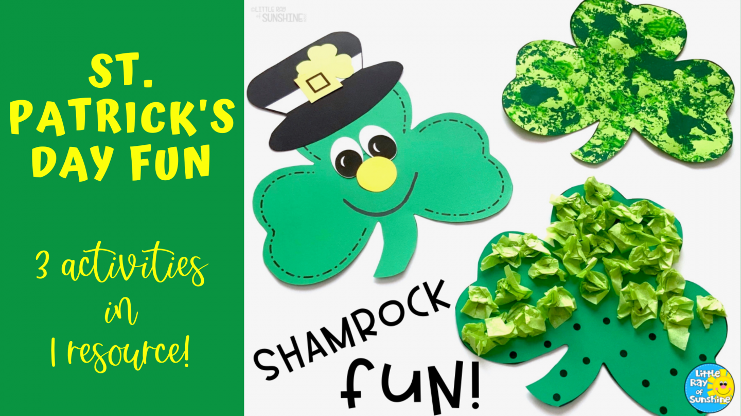St. Patrick's Day Activities for Early Learners