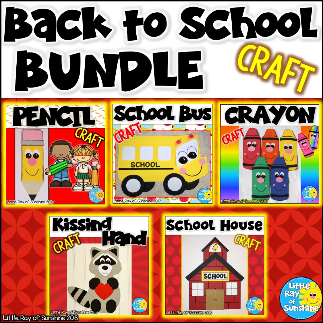 Back to School Craft Bundle
